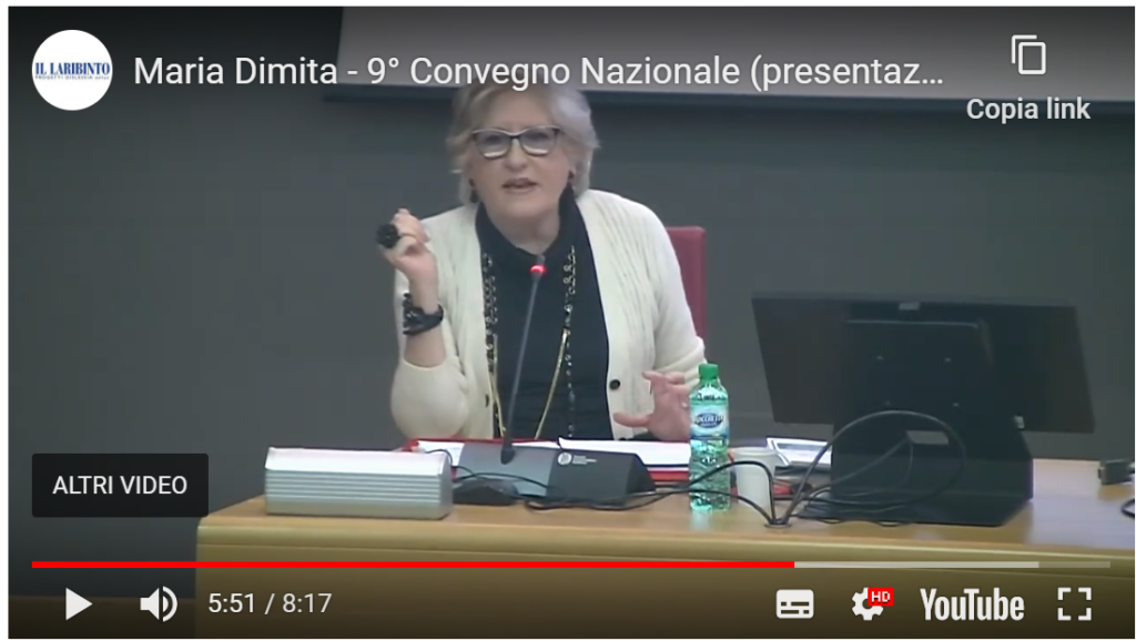 Maria Dimita - Convegno
